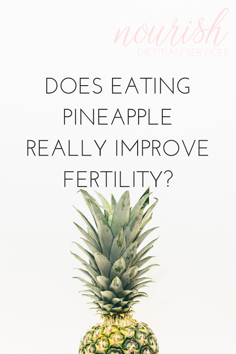Evidence Based Nutrition Help From The Fertility Dietitian